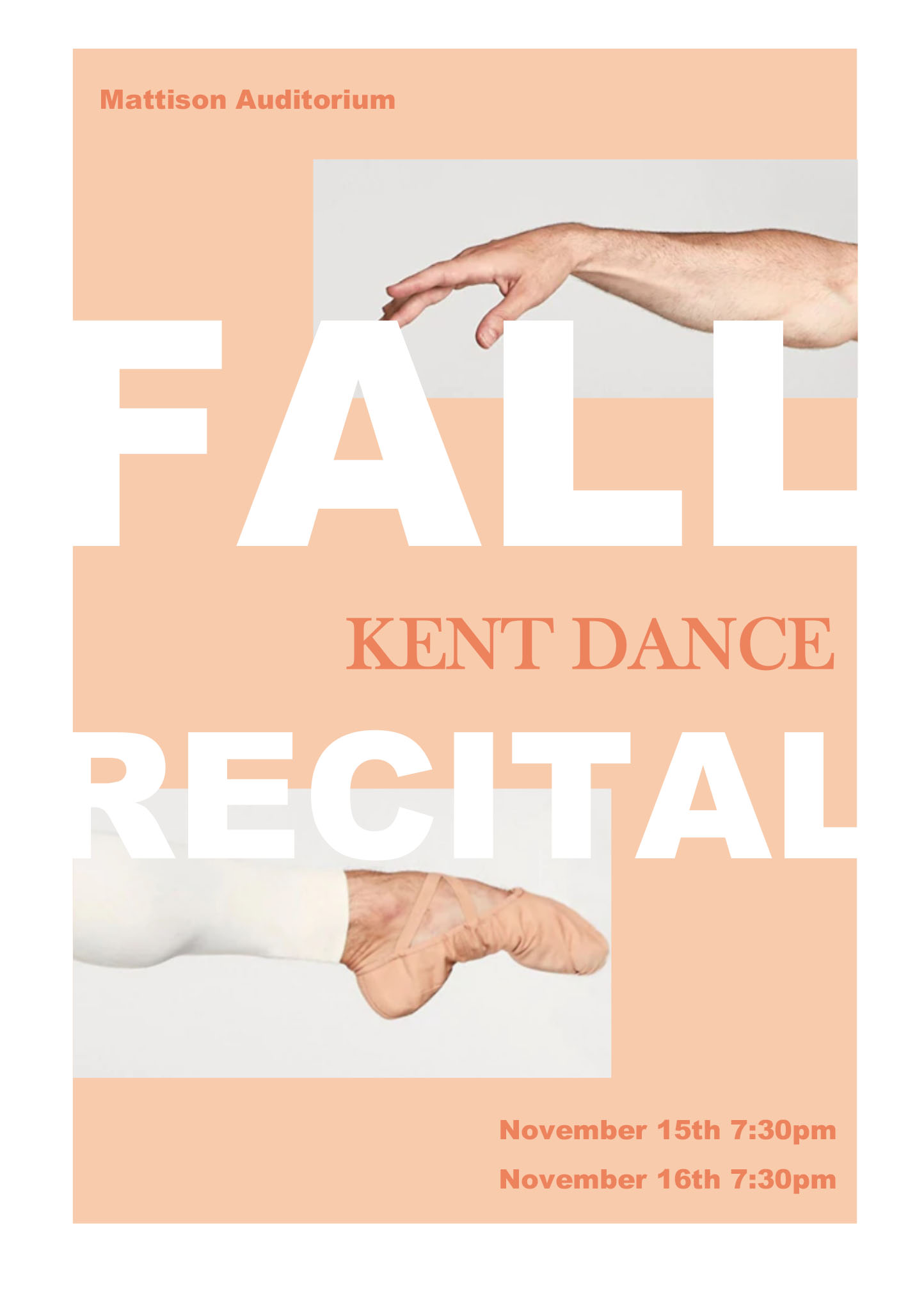 FALL 2019 DANCE RECITAL