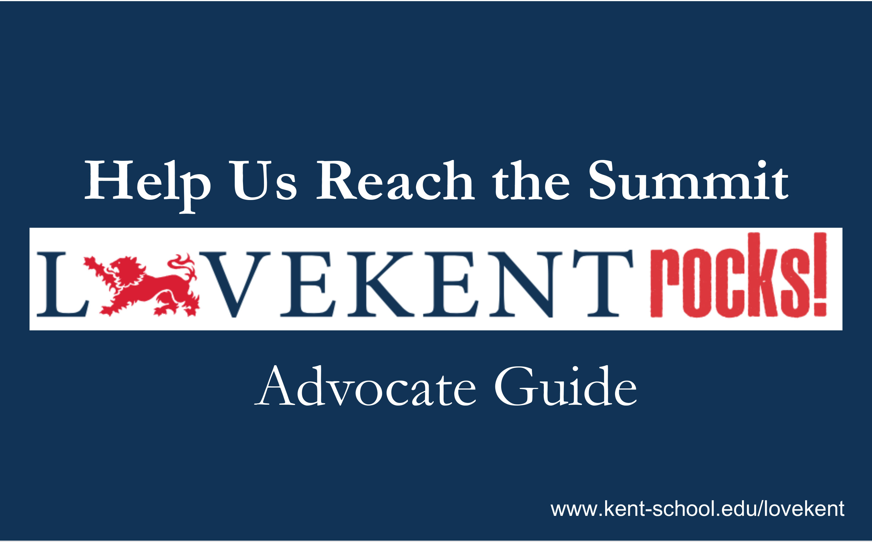 Love Kent Advocate Toolkit