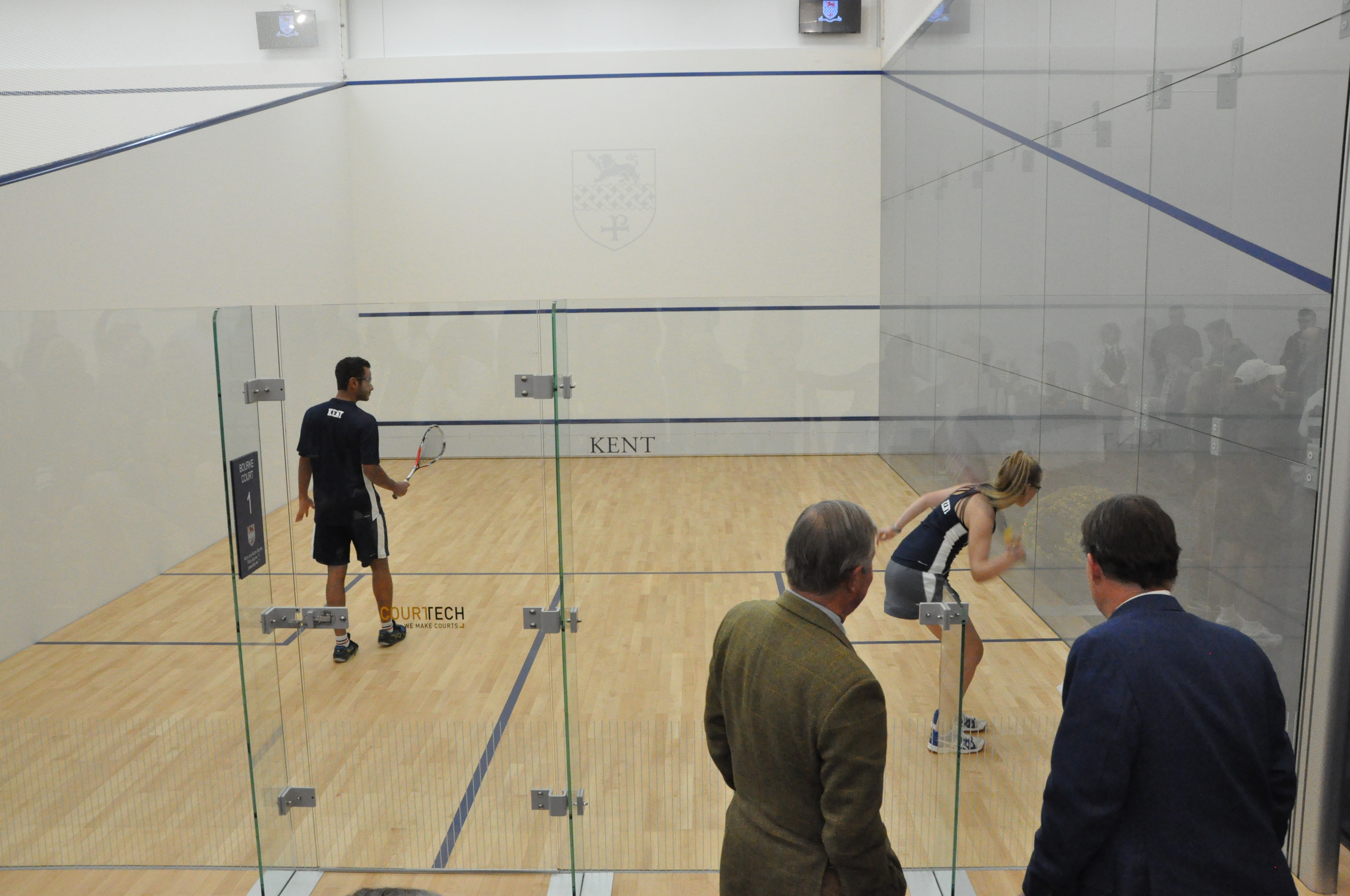 1765dfa188a Kent School Squash Courts Unveiled