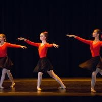 dancers in red